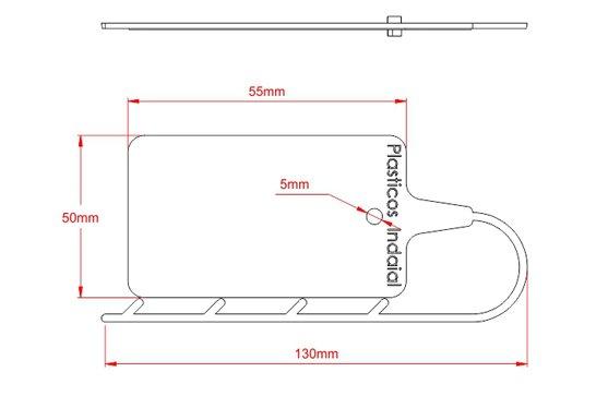 Desenho Técnico PI - Placa de Identificação