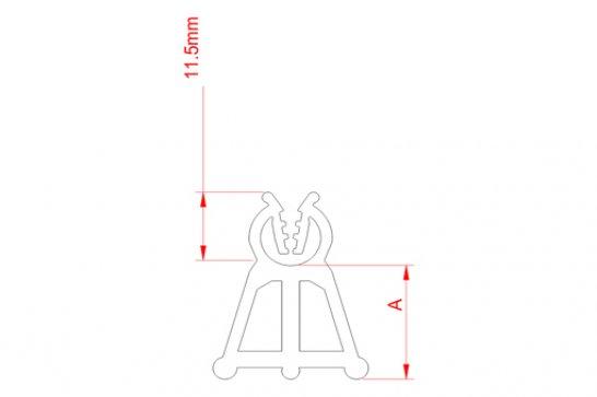 Desenho Técnico AE Apoio com Engate (4-6/15)