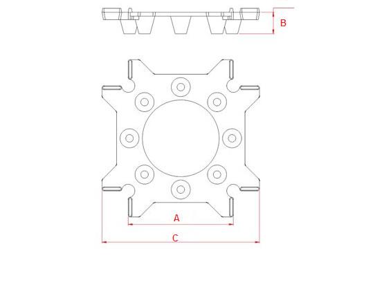 Desenho Técnico IB - Espaçador Laje Nervurada