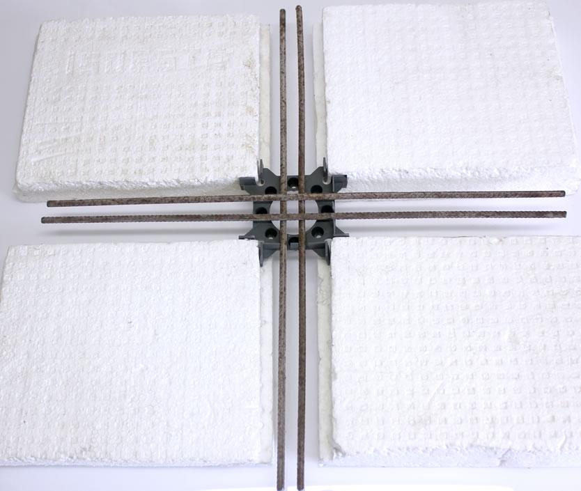 Produto Aplicado IB 80 - Espaçador Laje Nervurada