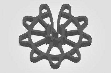Espaçador para Concreto CA - Circular Aberto (4 - 12 mm)