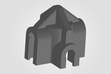 Ilustração 3D Presilha Malha POP